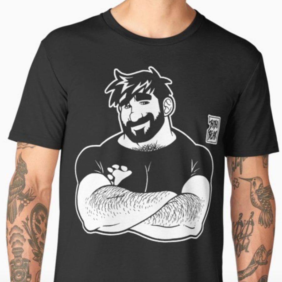 camiseta bobo bear arms