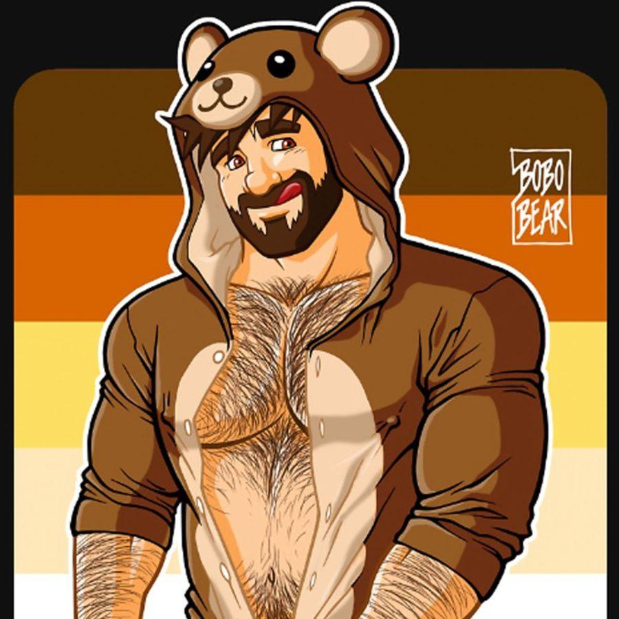 camiseta bob bear pride